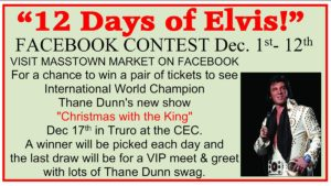 12 Days of Elvis @ Masstown Market | Debert | Nova Scotia | Canada