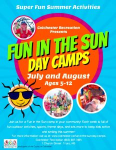 Fun in the Sun Day Camps - Registration @ Masstown Market | Debert | Nova Scotia | Canada