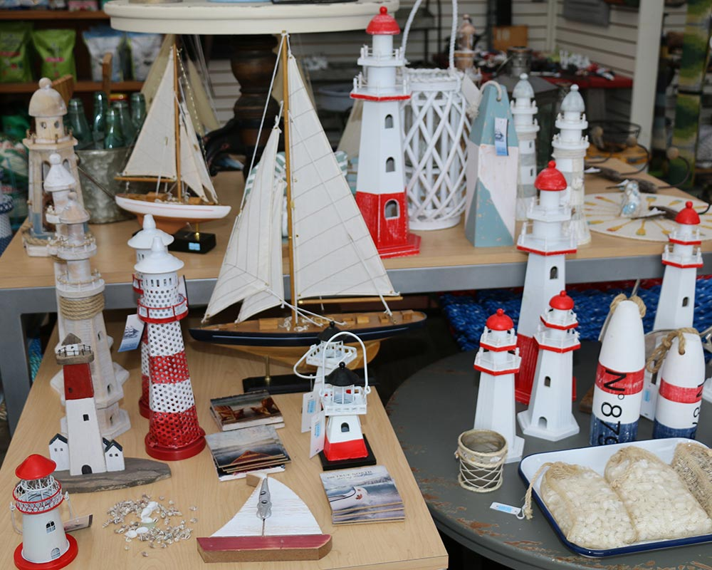 Nautical Gifts found in Lighthouse Giftshop