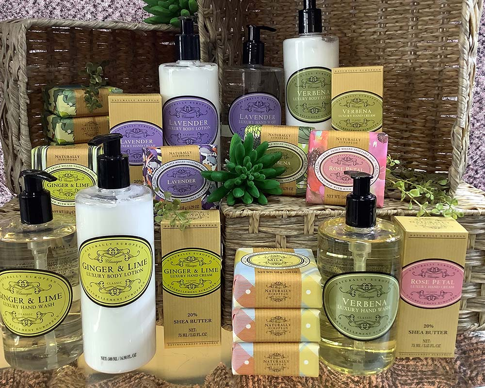 Body Products found in Market Gift Shop